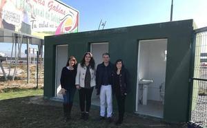 El Ayuntamiento de Las Gabias instala baños públicos en el Parque Periurbano