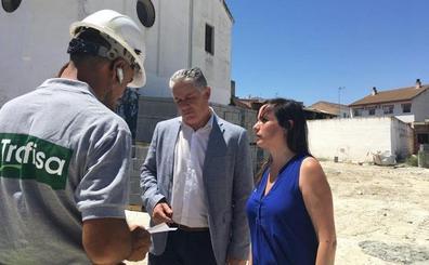 Diputación invierte casi 800.000 euros en el Parque de la Ermita en Las Gabias y el edificio multifuncional de Híjar