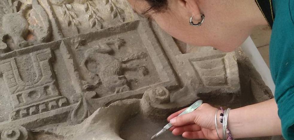 El CEI Alzawiya restaura y pone en valor el escudo de la Huerta Iberos