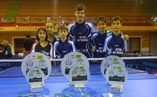 Campeonato de Andalucía: cinco oros y seis podios