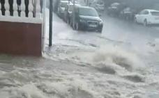 El vídeo de la espectacular inundación en La Zubia