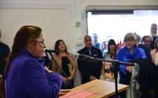 Los vecinos de La Zubia eligen dónde ubicar tres esculturas de Carmen Jiménez