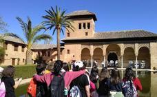 IML La Zubia explica Granada en inglés a escolares de Alicante