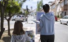 El certamen de pintura rápida Villa de La Zubia repartirá este sábado 6.000 euros en premios