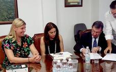 La Zubia y Granada firman la expropiación de terrenos para facilitar el alumbrado de la GR-3211