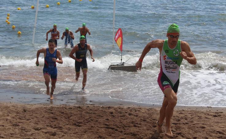 Fiesta nacional de triatlón en Pulpí