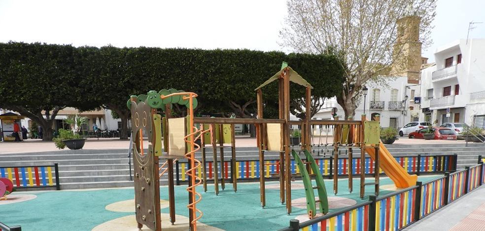 Remodelados dos parques infantiles en Turre para la seguridad de sus usuarios