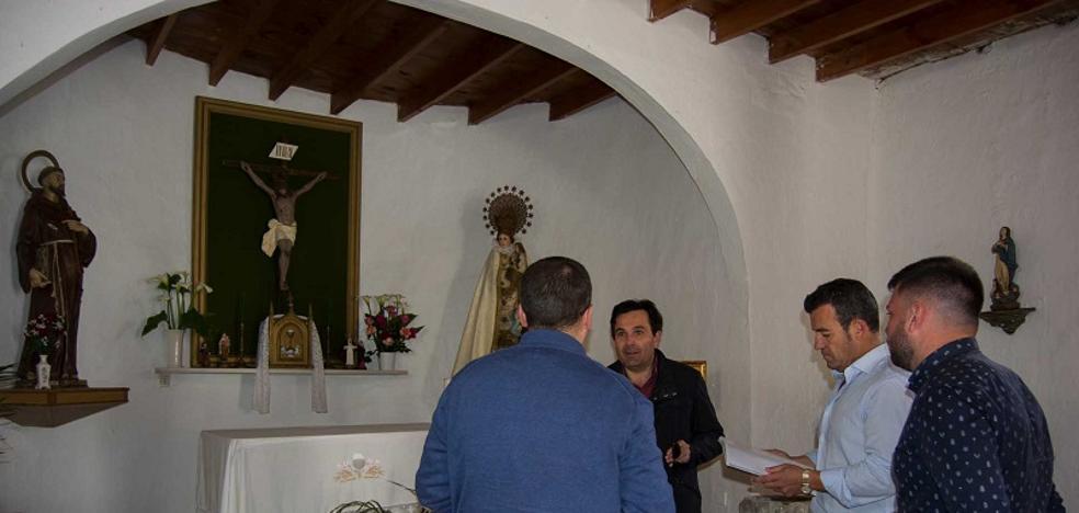 La nueva ermita del Llano de Don Antonio estará levantada en octubre