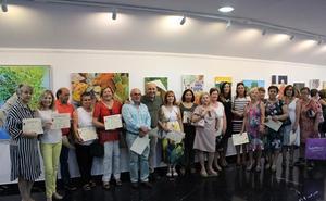 El Centro de la Mujer de Huércal-Overa realiza una exposición pictórica