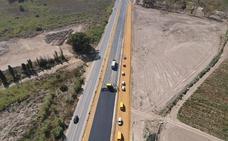 Desviado el tráfico en la Vera-Garrucha a la nueva calzada