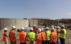 Las obras de la EDAR de Huércal-Overa alcanzan el 45% de su nivel de ejecución