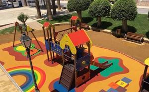 Finalizan los trabajos en la zona de juego infantil del Parque Andaluz de Carboneras