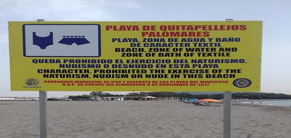 ¿Dónde está el límite entre una playa naturista y una textil?