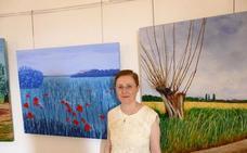El Castillo de Villaricos acoge la exposición de pintura de Juana Flores