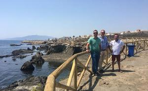 Cuevas adapta sus playas de cara a la recuperación medioambiental y el uso sostenible