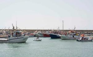 Los marineros de Carboneras rinden homenaje a la Virgen del Carmen