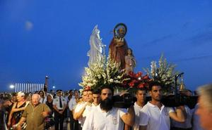 Garrucha venera a su patrón, San Joaquín