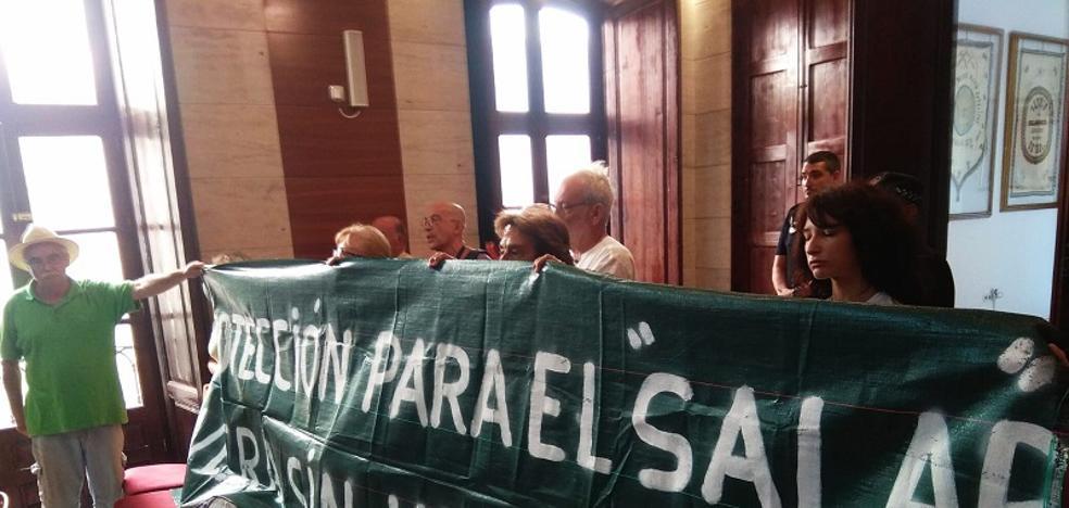 Salvemos el Salar de los Canos protesta por la no inclusión del humedal en el BOJA