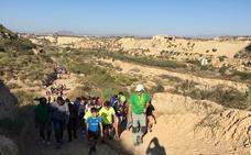 Una ruta de senderismo ofrece la posibilidad de conocer Huércal la Vieja