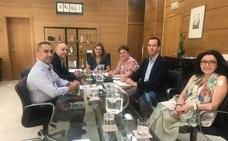 Junta y Ayuntamiento tratan el nuevo centro de salud de Huércal-Overa