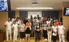 La Inmaculada incorpora a 13 estudiantes de Auxiliar de Enfermería en prácticas