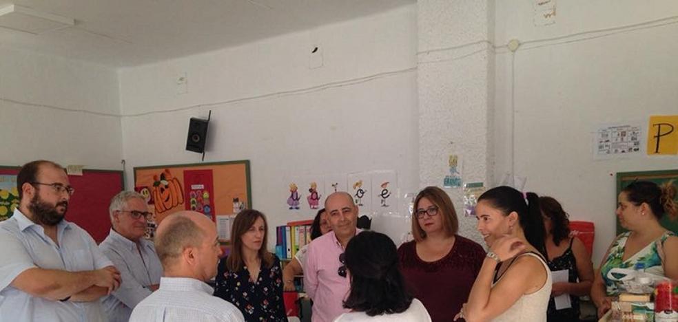 Educación invierte más de 95.000 euros en dos centros educativos de Huércal-Overa