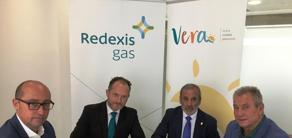 Vera instalará gas natural en varios edificios municipales para ahorrar hasta un 40%