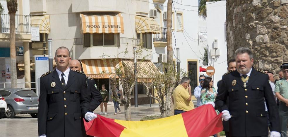 La Policía Local celebra el día de sus patronos en el Levante almeriense