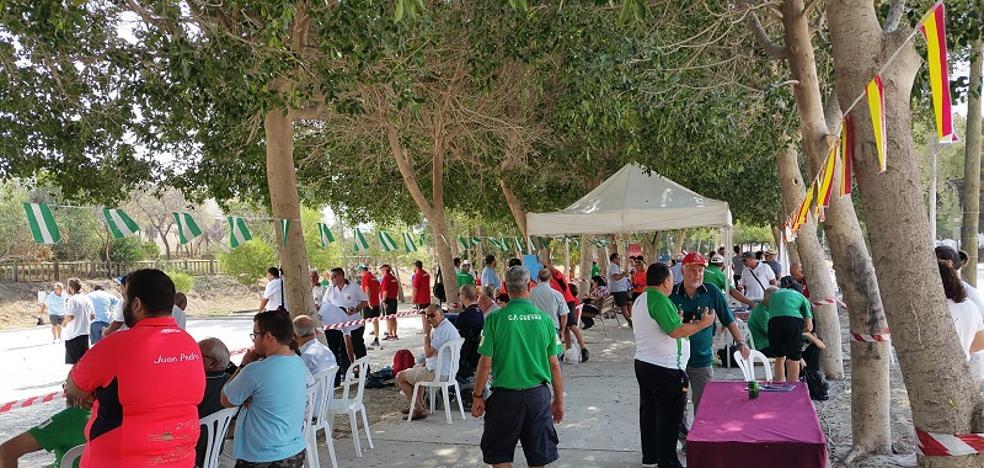 El Parque del Vivero de Cuevas acogerá el décimo Torneo Nacional de Petanca