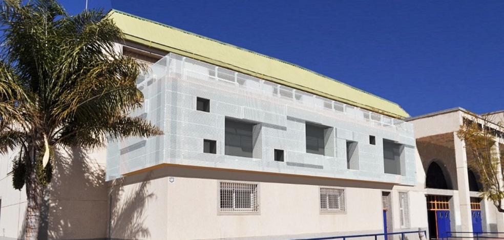Una nave y dos salas ampliarán el Pabellón Municipal de Deportes de Huércal-Overa