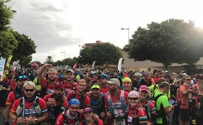 Buena actuación de los corredores del equipo Pulpí Trail Running en la Desértica