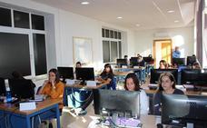 Iniciadas las clases de la escuela taller de Servicios Administrativos