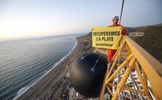 Greenpeace pide obligar a Carboneras a abrir expediente de demolición a El Algarrobico