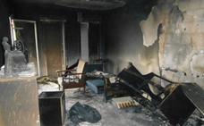 Amenaza a su hermano e incendia la casa en el Levante de Almería
