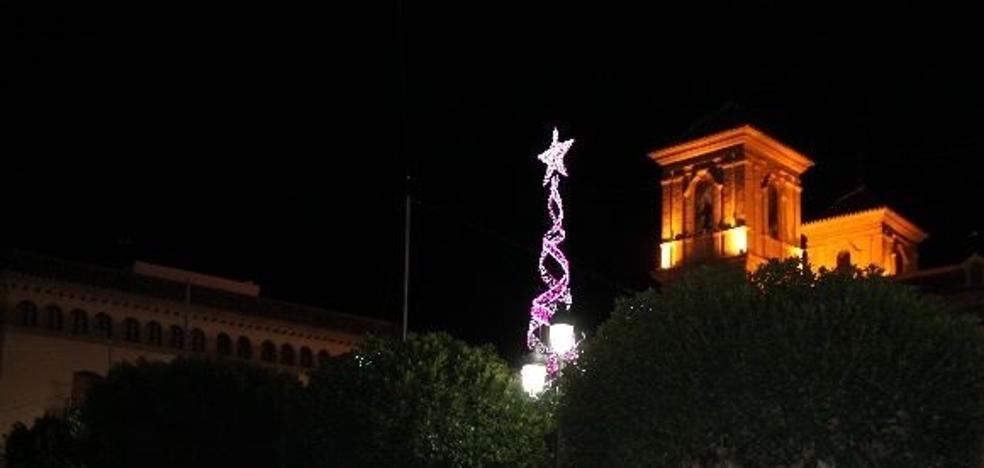 La Noche de la Luz dará mañana la bienvenida a la Navidad en Huércal-Overa