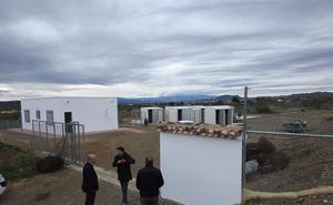 El centro de recogida de animales de Huércal-Overa, a principios de 2019