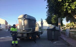 Más de 300 contenedores de basura nuevos para mantener Vera limpia
