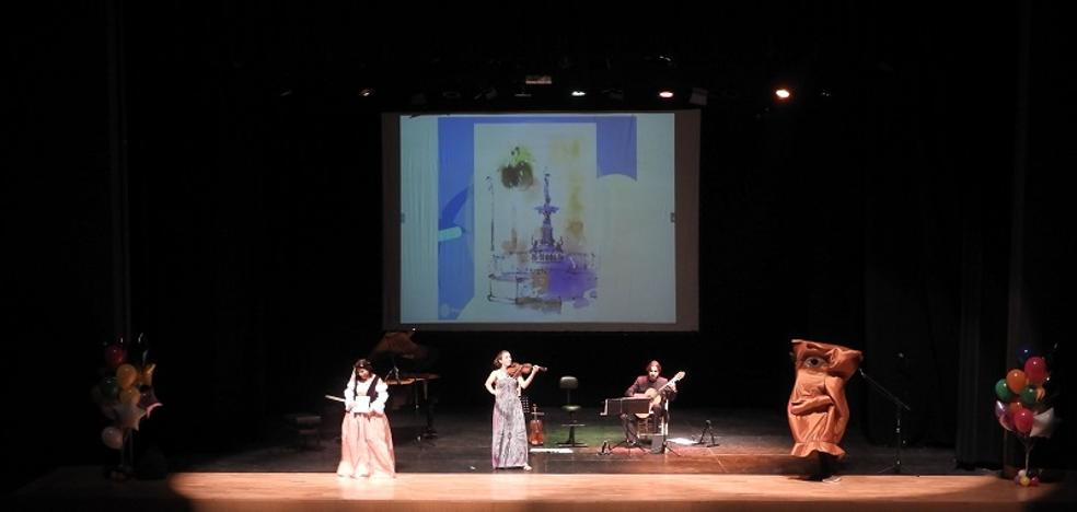 Un concierto didáctico da a conocer el patrimonio arquitectónico de Vera