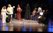 La historia teatral de Vera, a escena en una representación para el recuerdo