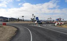 Abierto al tráfico el acceso a Vera a través de la rotonda de la A-352