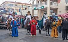 Los Gallardos, preparado para su representación del Auto Sacramental de los Reyes Magos