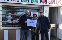 El segundo premio del Niño deja en Mojácar 75.000 euros