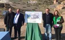 La Geoda Gigante de Pulpí, imagen del cupón de la ONCE del próximo 23 de enero