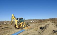 Comienzan las obras de renovación de tuberías en Huércal-Overa