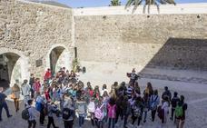 Carboneras acoge a un grupo de estudiantes franceses en sus hogares