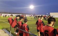 Inaugurado el campo de fútbol 'Andrés Soler Guerrero' de Cuevas tras la remodelación