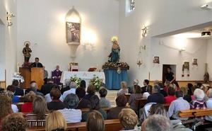 La Virgen del Río de Huércal-Overa recibe el Escudo de Oro de la Diputación