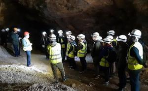 Luz y sonido en la mina Mulata