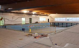 Comienzan las obras en la piscina cubierta de Cuevas del Almanzora