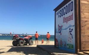Las playas de Garrucha, vigiladas por primera vez en Semana Santa